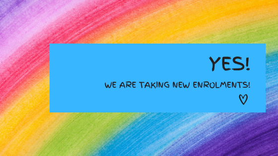 Yes!  We are still accepting new enrolments!